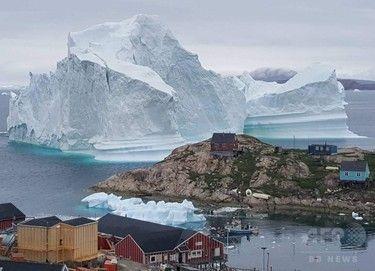 【グリーンランド】高さ100メートルの氷山、崩落で津波の恐れ 住民に避難勧告