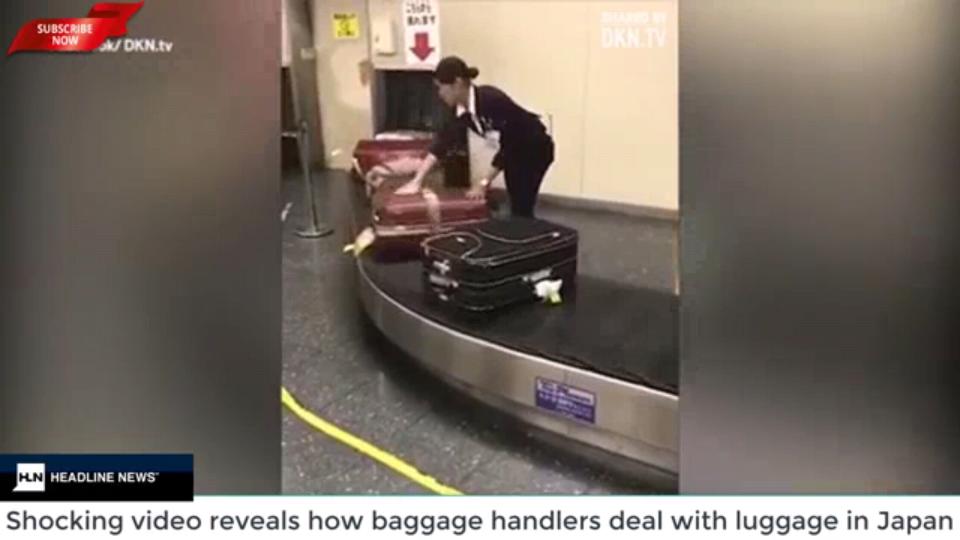 【画像】日本の空港スタッフの行動に世界が驚愕!!!