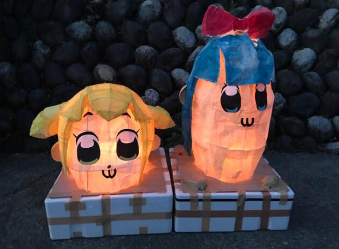 【悲報】ポプテピピックの灯籠を作ったTwitter民さん、大炎上してしまう