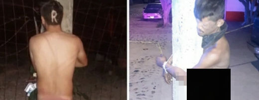 裸で電柱に縛られる男性が相次いで見つかる 警察が捜査に乗り出すも難航