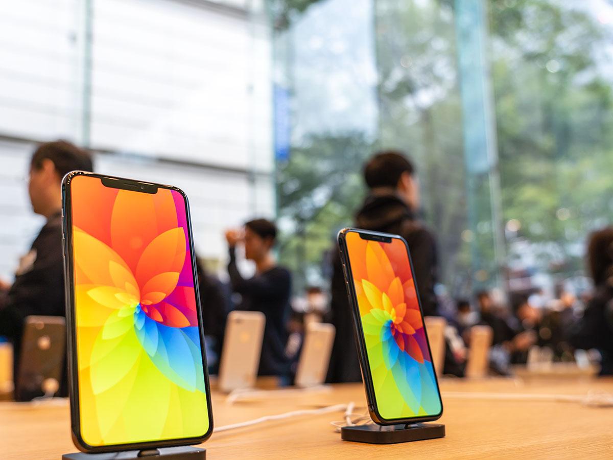 【iPhone XS】今年のiPhone行列は250人と少なめ 去年の550人と比べて半減
