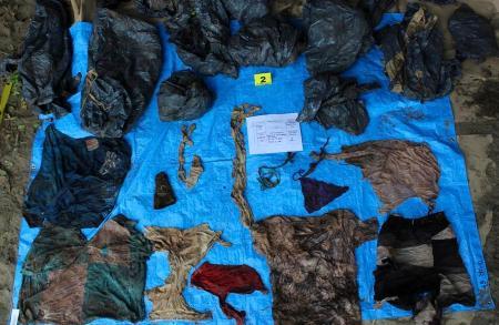【世紀末】犯罪被害者か メキシコで地面の穴から166人分の頭蓋骨見つかる