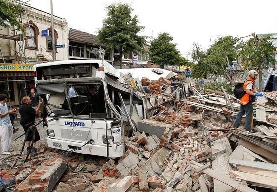 【地震】ニュージーランド付近、マグニチュード7の地震 津波の心配なし