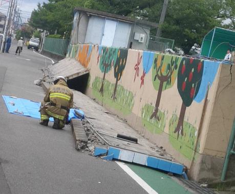 【悲報】9歳の女の子、プールの壁に挟まれ死亡