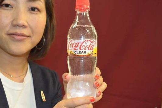 【やっぱりやった】コカ・コーラもついに透明コーラを発売wwww