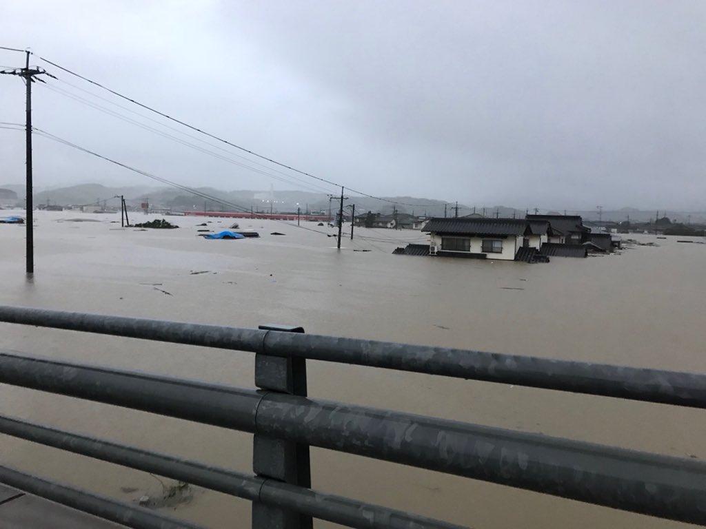 【災害】7日の大雨で3人死亡、少なくとも24人が安否不明
