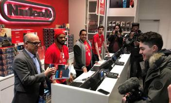 Nintendo Switch、海外人気 上昇傾向へ