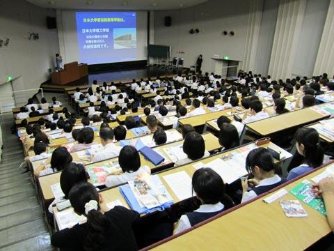 【悲報】日大、オープンキャンパス来場者数6割減