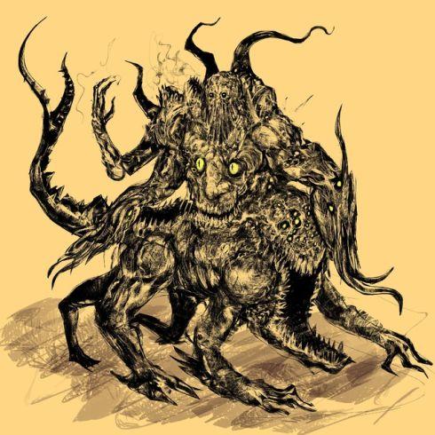 【画像】クトゥルフっぽい滅茶苦茶巨大な生き物の画像くれ