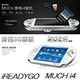 PSP VITA似の各種ネットワーク対応のAndroid4.0搭載ゲームマシン / iREADYGO MUCH i4/5inch/WCDMA/HSDPA(3.6Mbps)/Wi-Fi/Bluetooth2.1+EDR/GPS