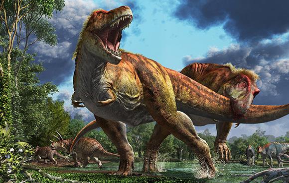 冷静に考えたら恐竜って骨しか見つかってないのに