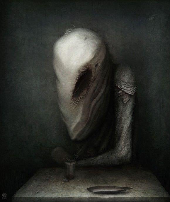 【画像】ロシアの画家が描いた不気味な絵