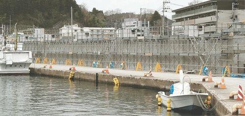 【東日本大震災】防潮堤施工ミス、作り直さず