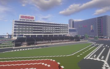 【画像】「マインクラフト」で横浜駅のほんの一部を作ってみたんだが見てくれ