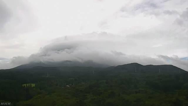 【凶兆】富士山で「笠雲」強風や大雨の前兆