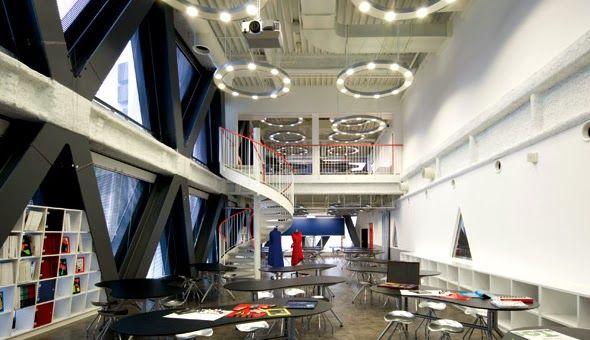 【画像】『東京モード学園』のキャンパス内wwww