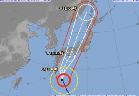 【警戒】台風21号さん、気合い入れまくりで今世紀最強の勢力で上陸する模様
