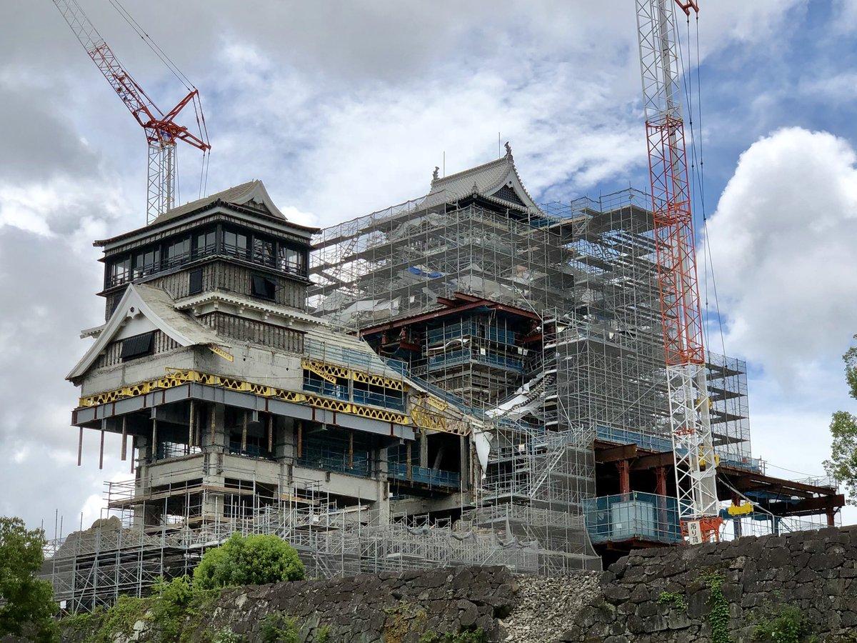 【画像】 現在の熊本城の姿が我々の思い描く熊本城となんか違う