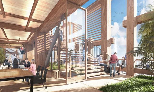 住友林業「2041年までに70階の超高層木造ビルを建てる」 壮大な計画を発表