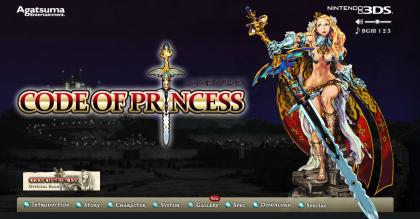 3DS「コード・オブ・プリンセス」 各キャラのプレイ動画がYouTube