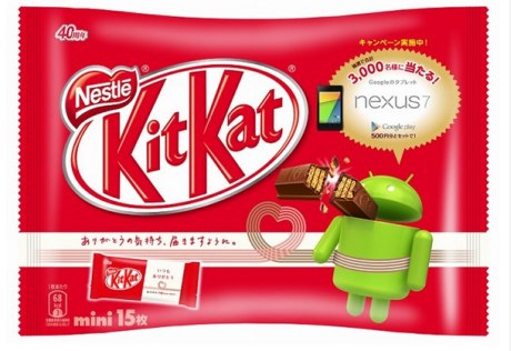 Android-themed KitKat