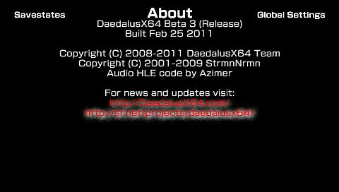 DaedalusX64 Beta 3 (10)