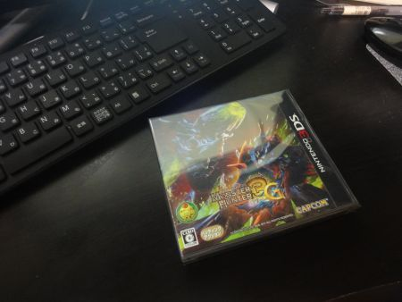 3DS「モンスターハンター3G」 やっと入手できたの巻