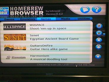 Homebrew Browser ver 0.3.8 (6)