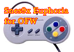 Snes9x Euphoria R5 Beta3 for OFW