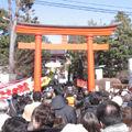 東伏見稲荷神社初詣1