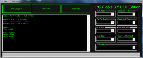 PS3Tools Main FOrm