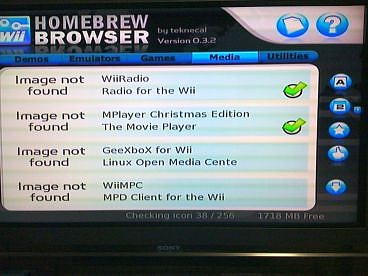 Homebrew Browser ver 0.3.8 (7)