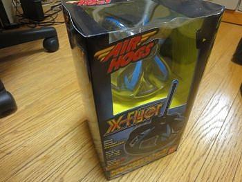 空中浮遊するホバリングおもちゃ X-Flyer (エックスフライヤー) 買ってみた
