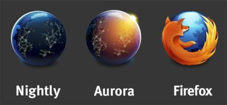 firefox-aurora-logos