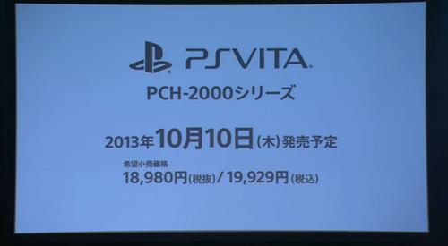 New PS Vita Pricing
