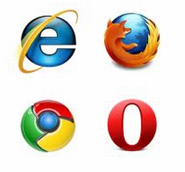 Firefox 、Chrome、IE、Opera
