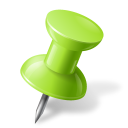 Map-Marker-Push-Pin-1-Right-Chartreuse-icon