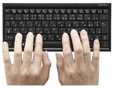 iPhone/iPad でサクサク打てるキーボード 「ELECOM Bluetooth2.0対応ワイヤレスフルキーボード」レビュー