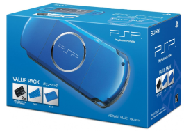 PSPバリューパック 「バイブラント・ブルー」 が安かったので購入!10分で完了する買ったばかりのPSPハック初期設定方法解説