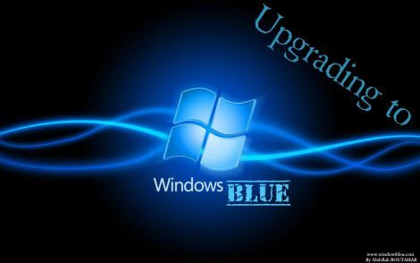 Windows-blue UPGRADE