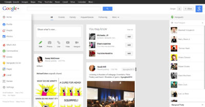 Google+_interface_s