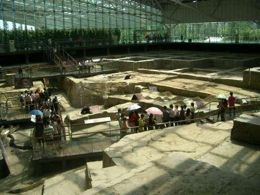 金沙遺址博物館内部