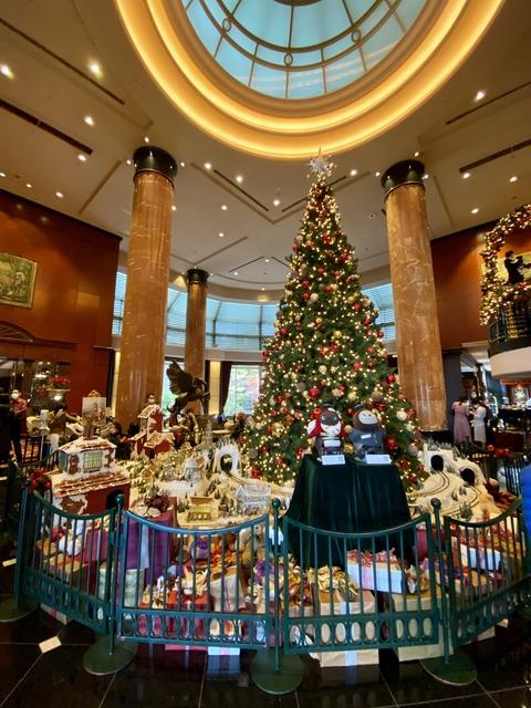 ウエスティンホテルのクリスマス