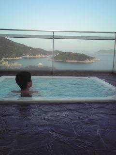 入浴シーン撮影