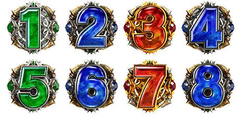 7図柄…主人公 4図柄…ラスボス