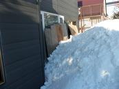 屋根雪降ろし