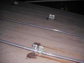 鉄板の接合部をシーリング