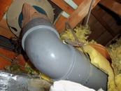 排水パイプドレンの凍結事故