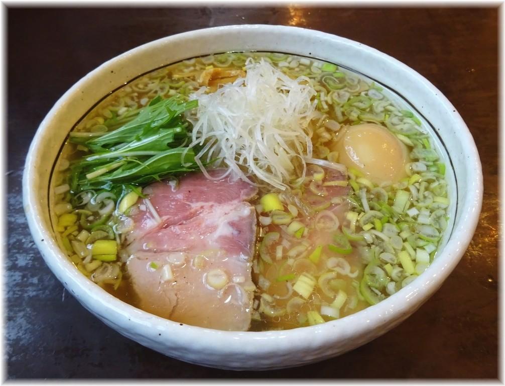 SPORTS DINING REGISTA 味玉塩ラーメン