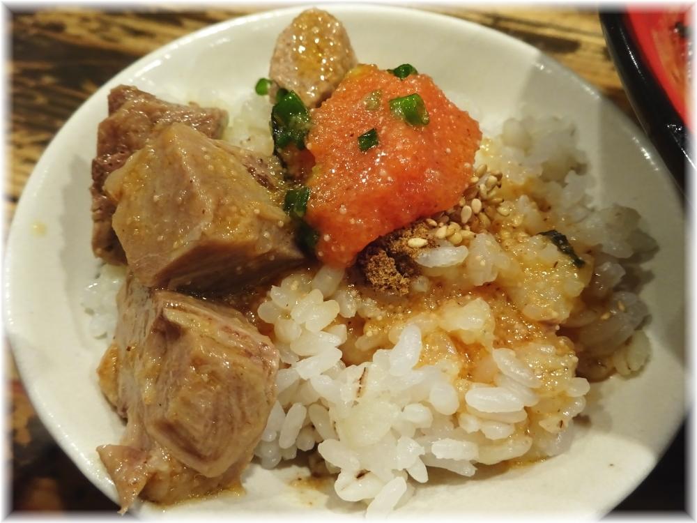 三田製麺所4 ぶっかけ明太子の割り飯
